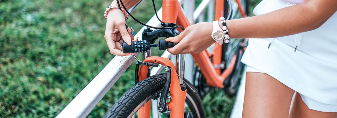 Ecrous antivol pour vélo